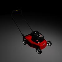 lawn mower obj