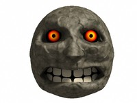 free 3ds model moon evil