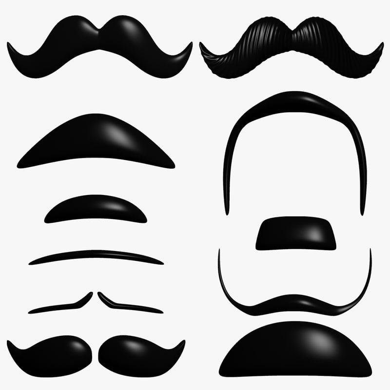 14 Best Cartoon Mustache images - Pinterest