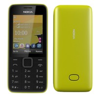 3d model nokia 207 yellow