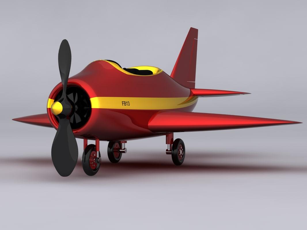 max small cartoon plane