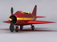 max small cartoon plane