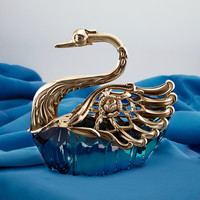 Golden Swan Salt cellar