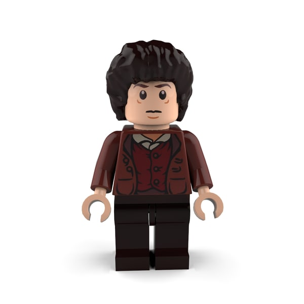 3d frodo baggins model
