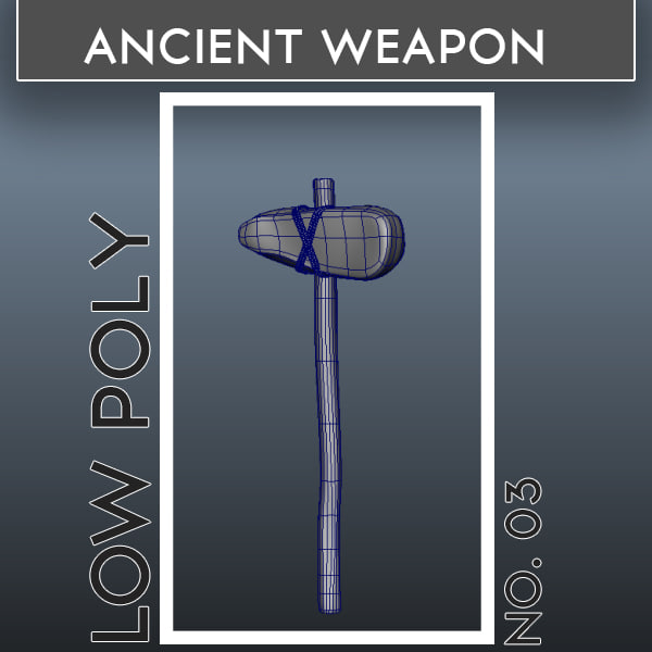 ancient weapons 03 3d ma