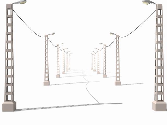 3d model electricity guemar