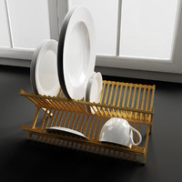 Convex Kitchen Decorations – Dish drainer