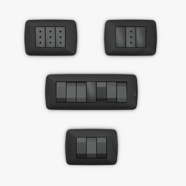 3dsmax al switches sockets