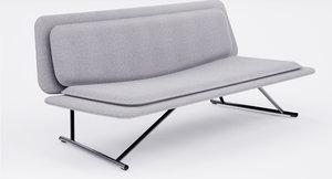3d model sofa lapalma boarding