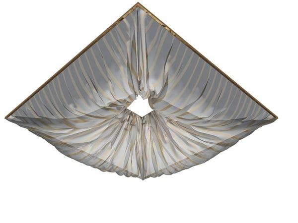 curtain ceiling 3d model