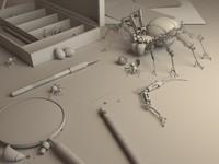 3dsmax spider