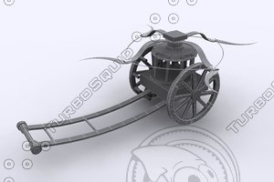 3d model leonardo da vinci machine