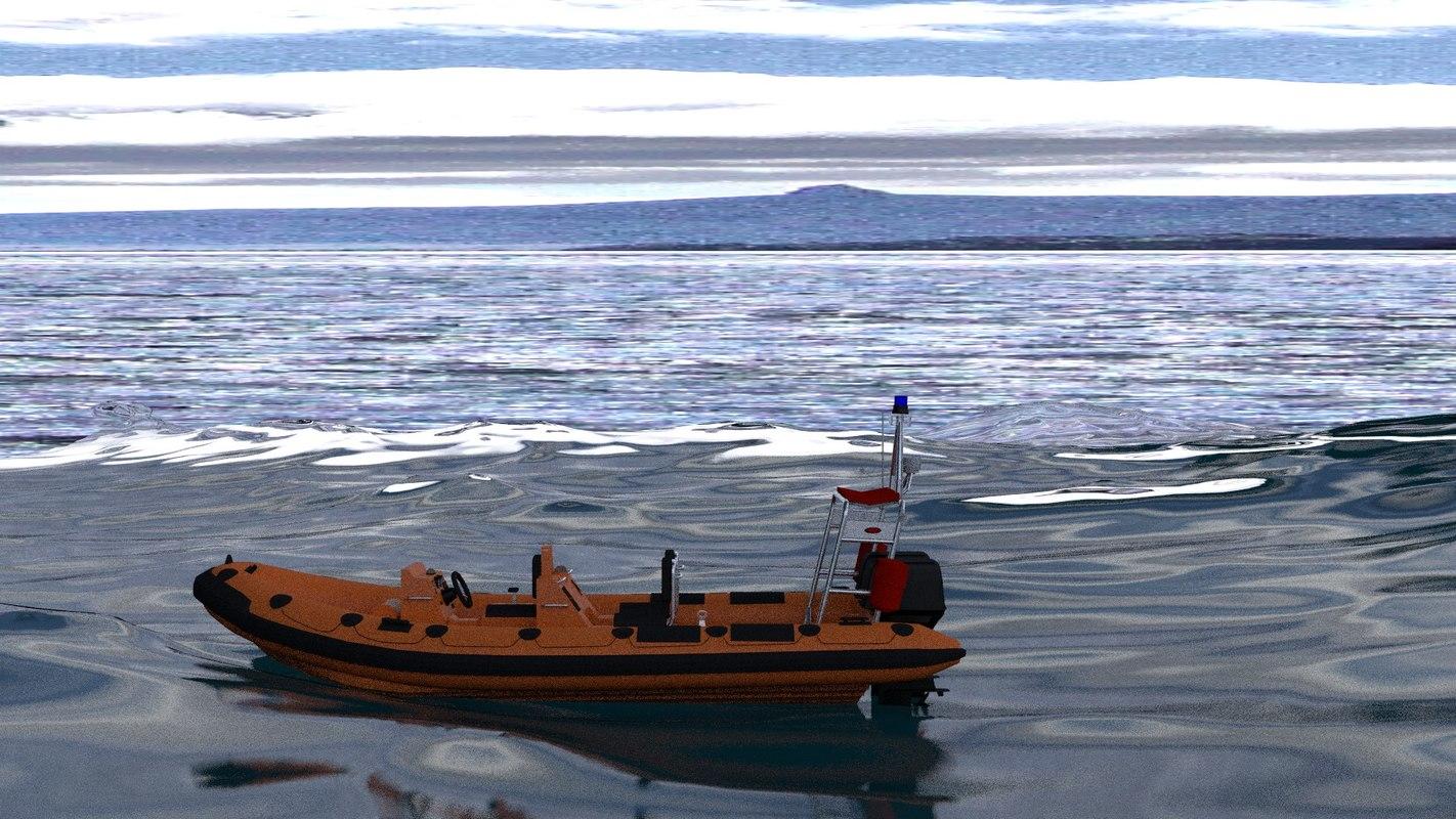 blend rescue boat