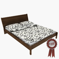 ikea nyvol bed 3d 3ds