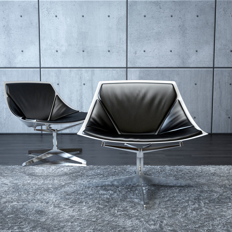 maya space lounge chair