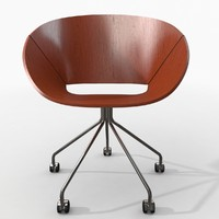 3d photorealistic lipse chair model