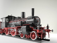 prussian steam locomotive br36 ma