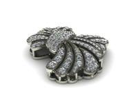 3d diamond design cad model