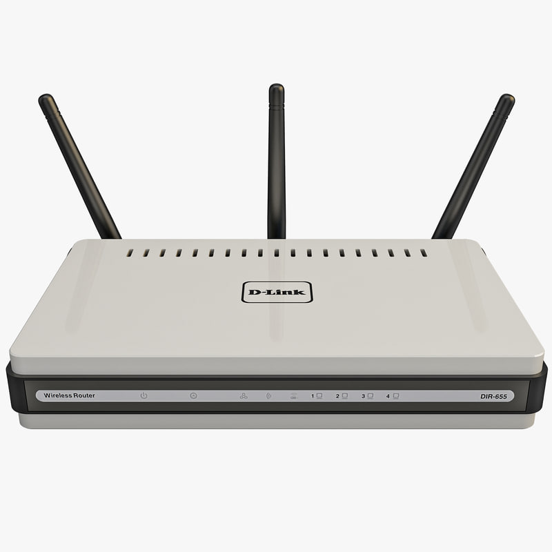 3ds max d-link dir-655 wireless router