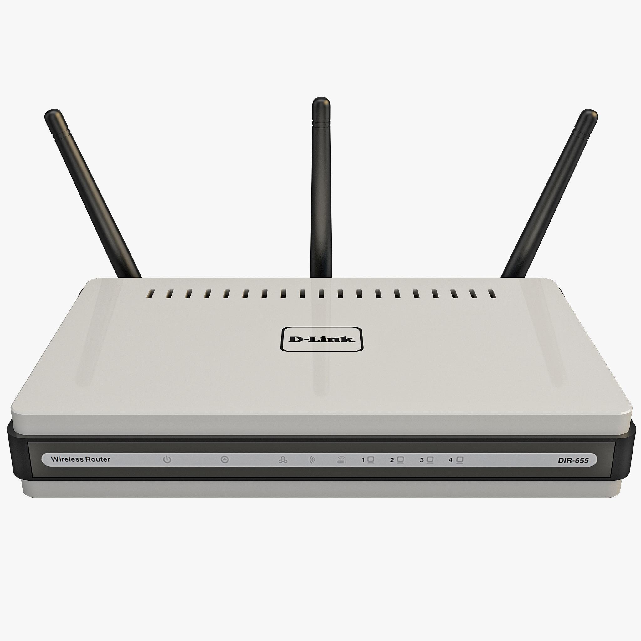 3ds max d-link dir-655 wireless router
