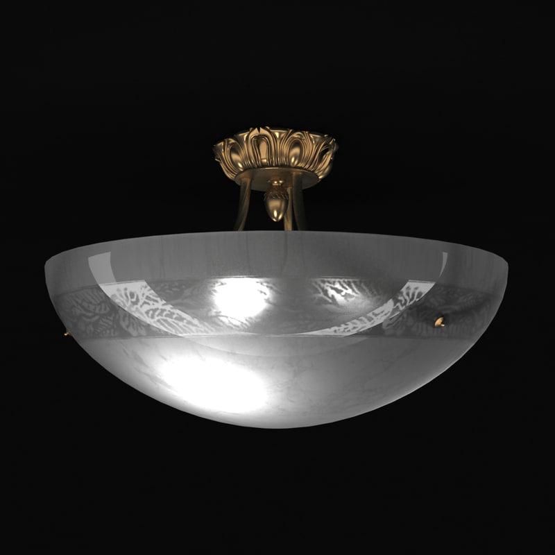 3ds max zonca ceiling light