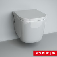 Wall-mounted Toilet 02