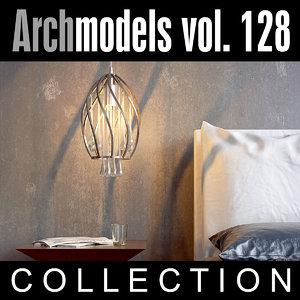 3d archmodels vol 128 lamps model