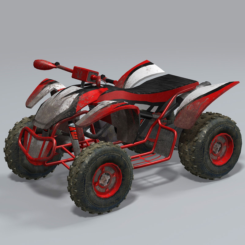 max realtime quad bike atv