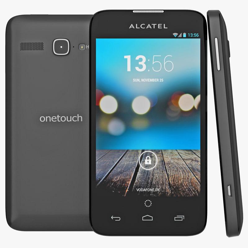 3d model alcatel touch snap lte
