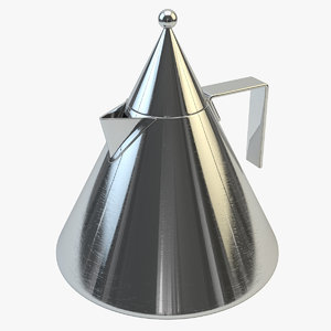 3ds max alessi kettle