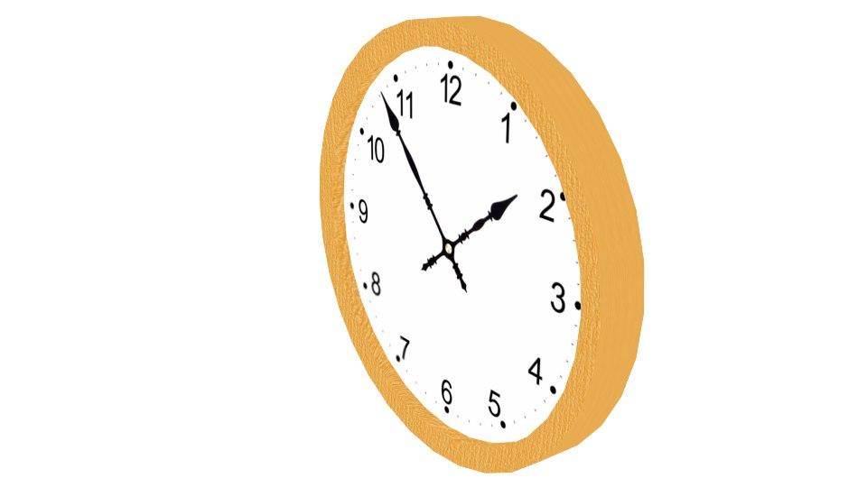 3d model basic clock