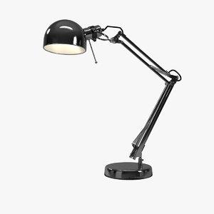 3d model forsa lamp desk