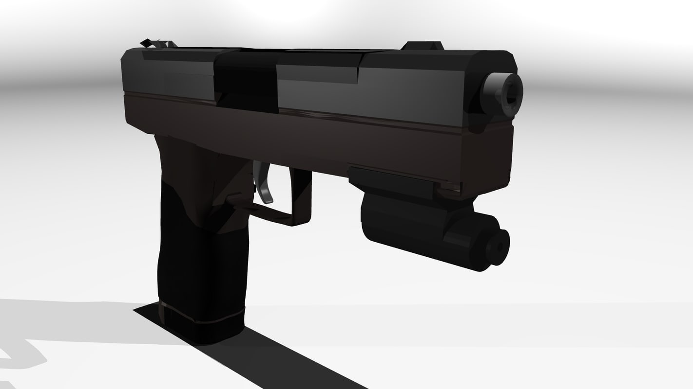 3d model automatic laser sights