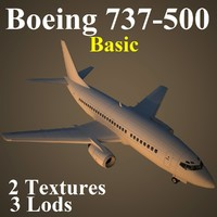 boeing 737-500 basic max