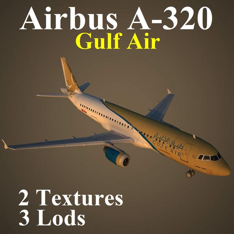3d airbus gfa model