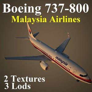 boeing 737-800 mas 3d model