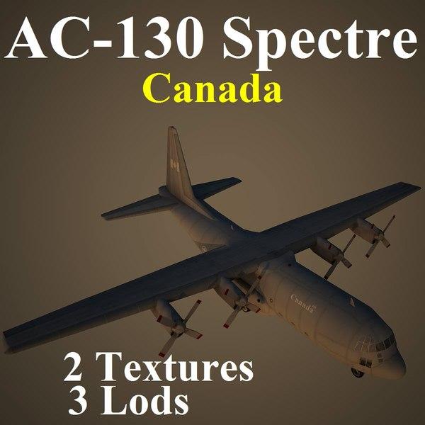 3d ac-130 spectre cfc