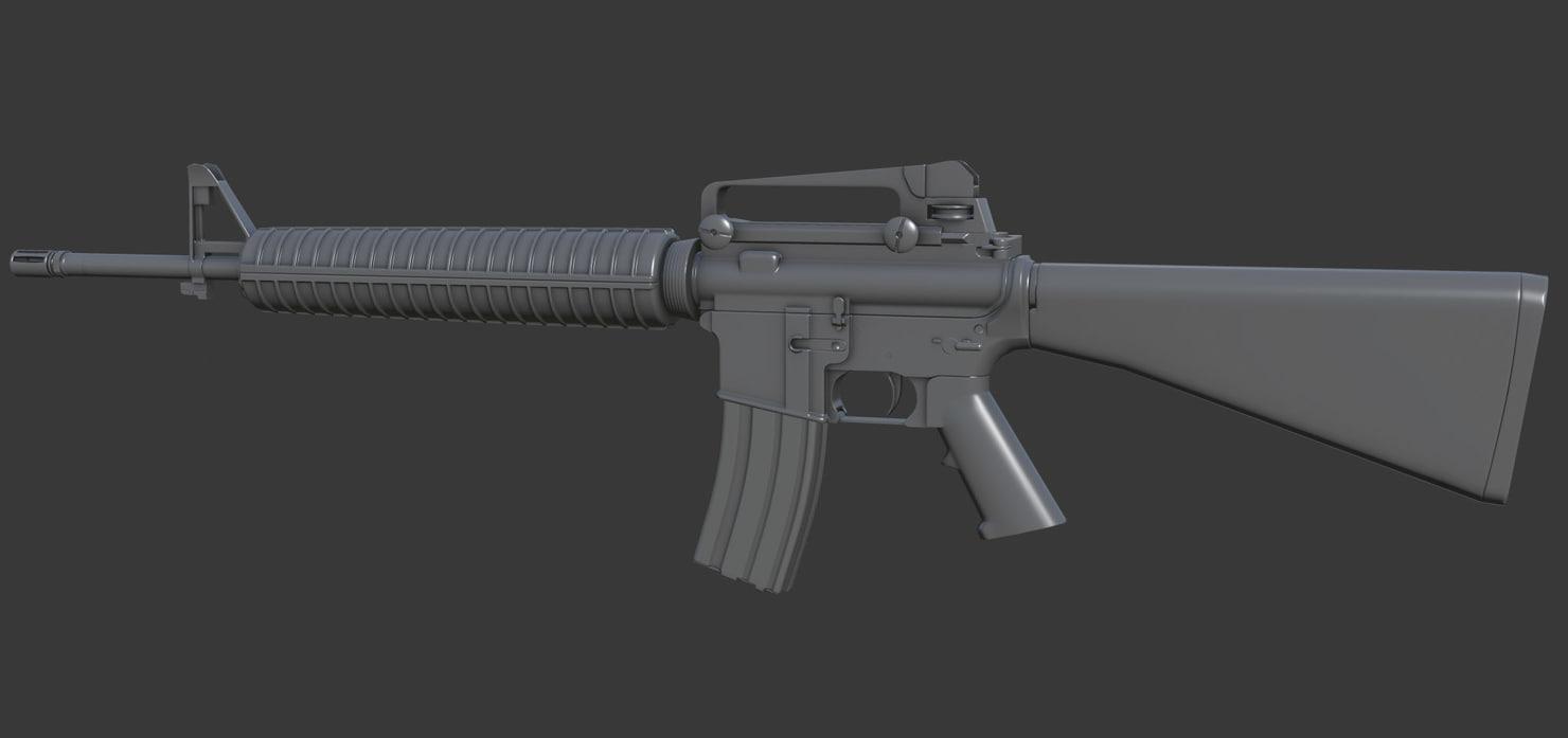 m16a4 rifle max