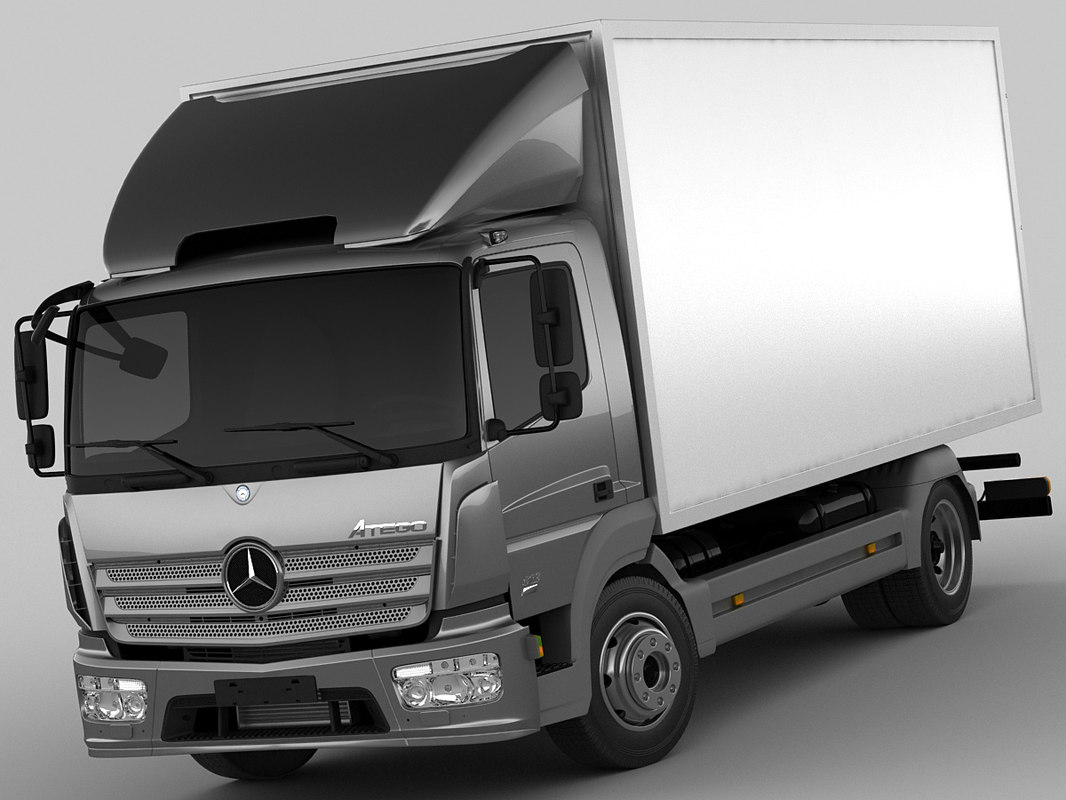 3ds mercedes atego short