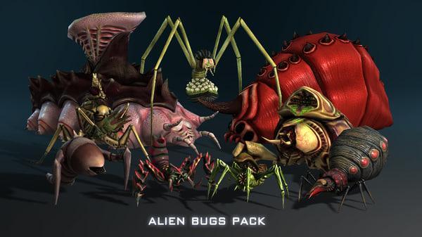 max alien bugs pack