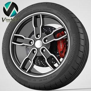 wheel nz sh603 3d 3ds