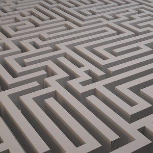 maze labyrinth 3d 3ds