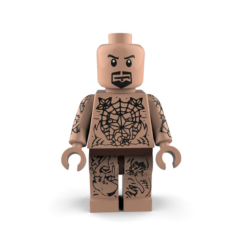ink enthusiast lego 3d max