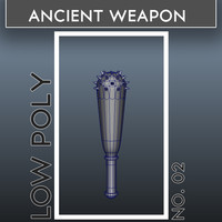 ancient weapon 3d model