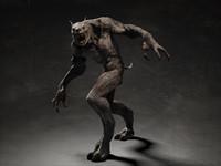 Werewolf creature