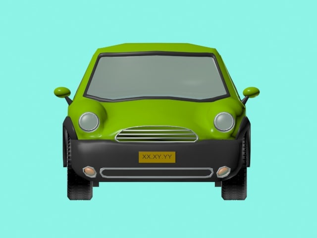 free auto 3d model