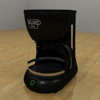 coffee pot 3d 3ds