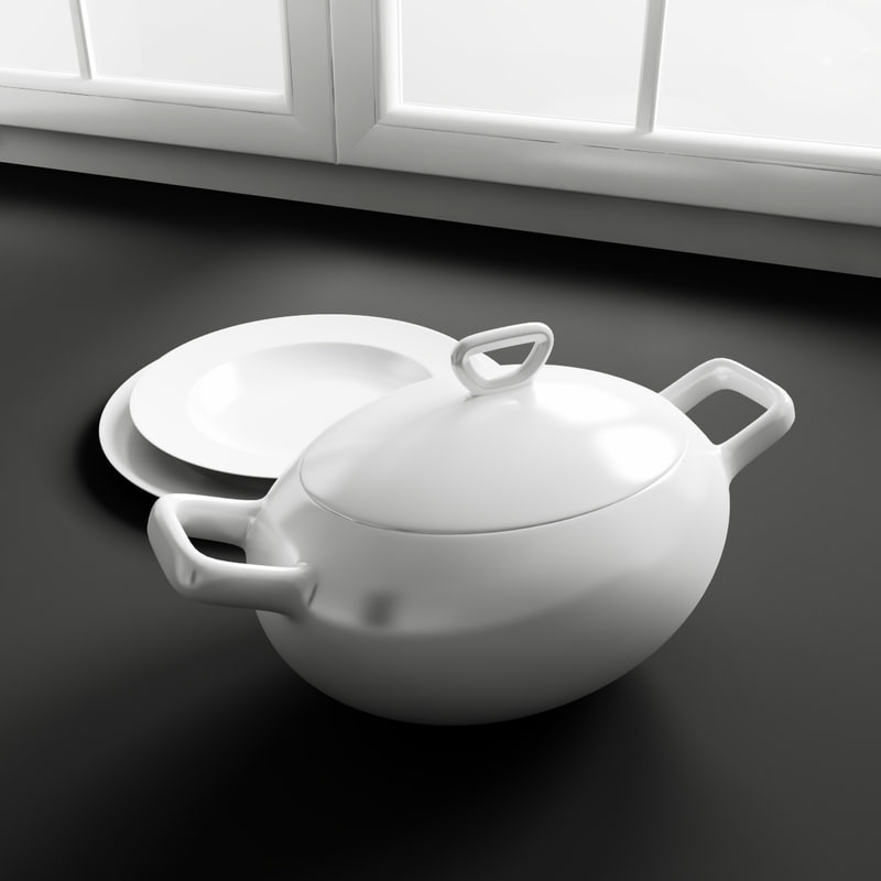 kitchen decoration 3d model
