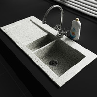 Convex Kitchen Decorations – Sink