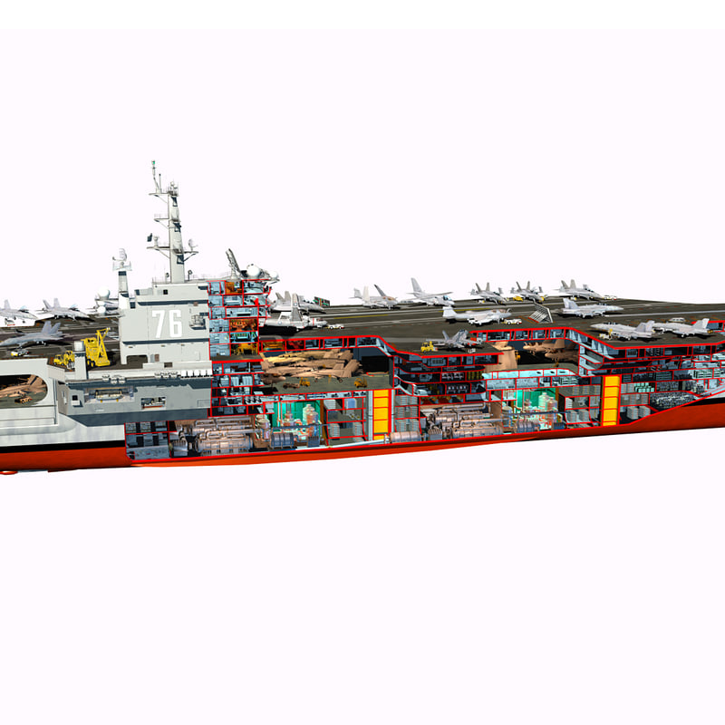 Aircraft Carrier Interior Layout on